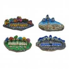 חנוכיות מעוצבות מסוגי אבן שונים