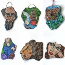 עיצובים מיוחדים ומקוריים מסוגים שונים של אבנים