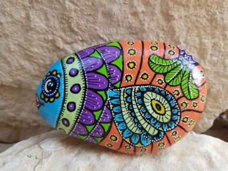 דג צבעוני דגם אינקה