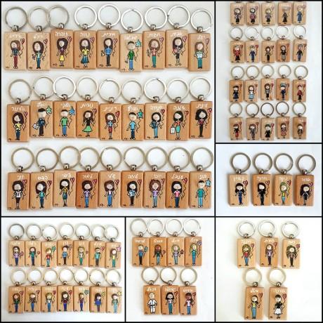 מחזיקי מפתחות ילדים- בהתאמה אישית